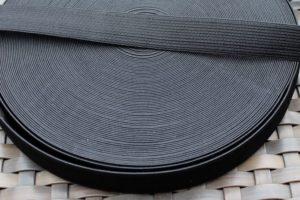 Gummiband schwarz Breite: 2 cm