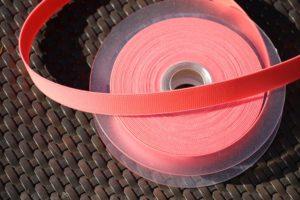 Gummiband neon pink 3 cm