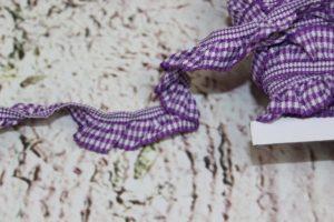 Rüschengummi 86% Polyester 14% Elastan