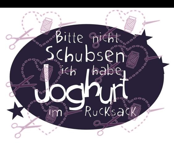 Joghurt im Rucksack