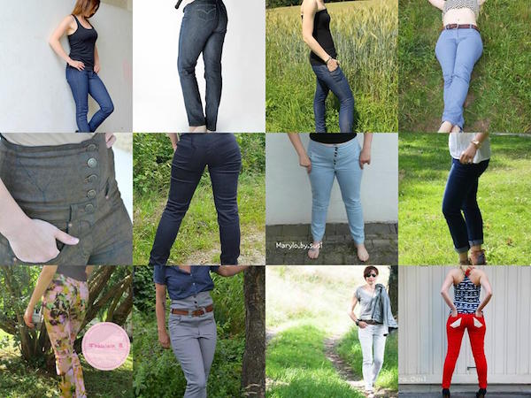 Skinnyjeans Schnittmuster & Anleitung by Sewera – Schnittverhext