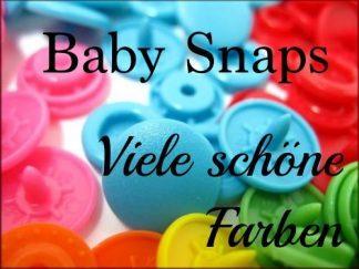 Knöpfe Baby Snaps
