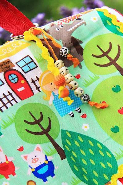 Kindertasche aus dem Märchenwald