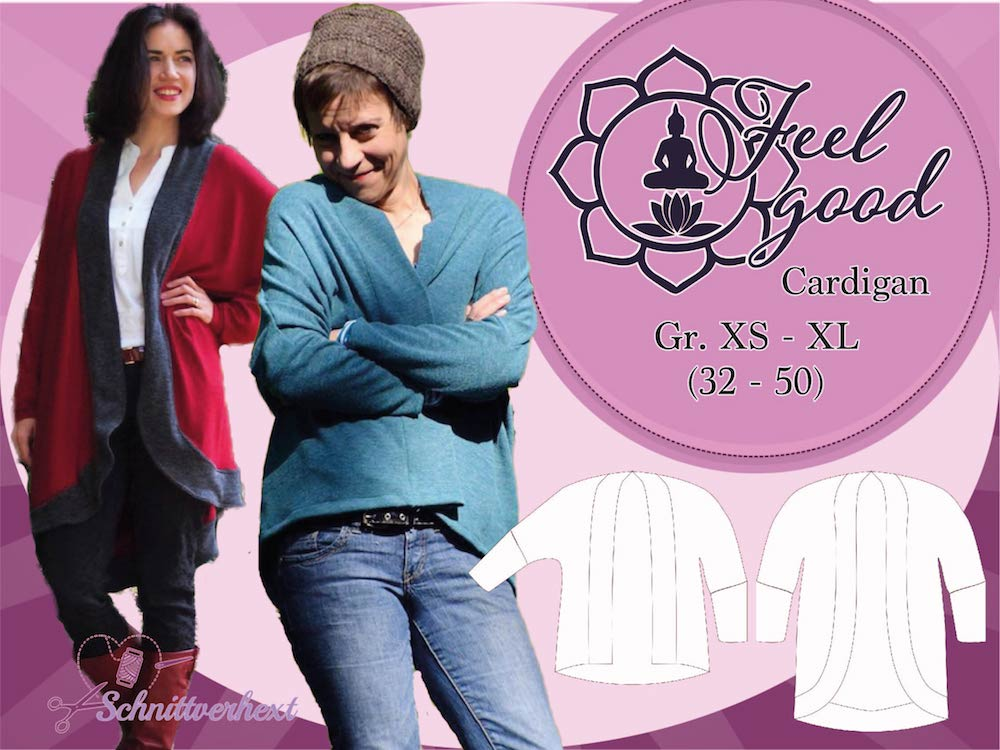 Titelbild Shop Feel good Cardigan