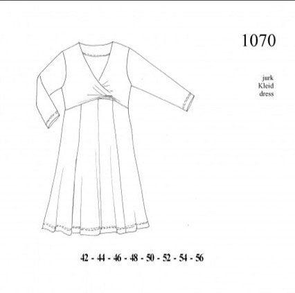 it\'s A fits 1070, Kleid, Schnittmuster – Schnittverhext