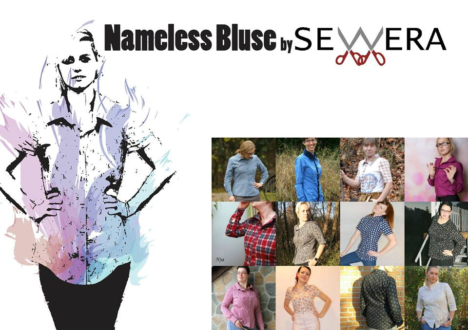 Nameless Bluse Ebook Sewera