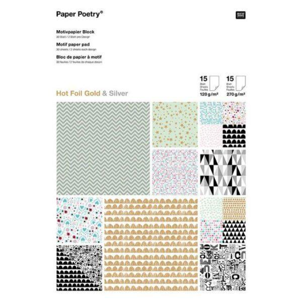 motivpapierblock-graphic-hotfoil