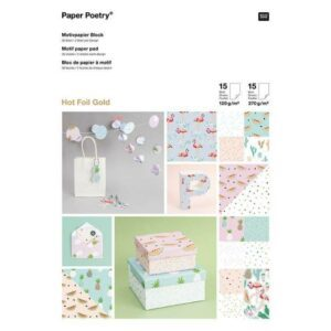 motivpapierblock-tropical-spring