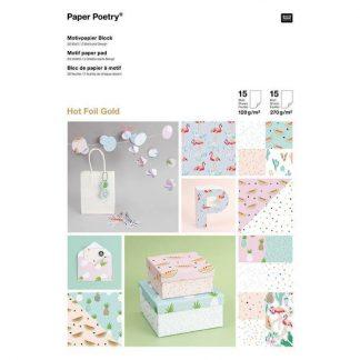 motivpapierblock-tropical-spring