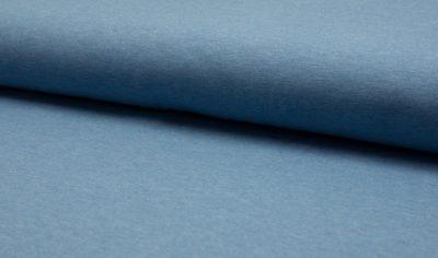 BW Jersey meliert - jeansblau