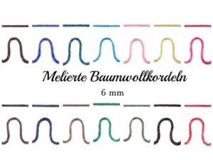 Kordel 6mm Baumwolle