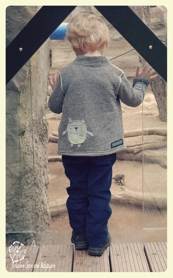 Fadenkäfer Strickjacke Minna Kinder