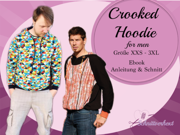 Crooked Hoodie for men