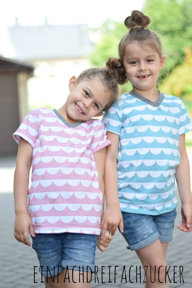 Fadenkäfer Basicshirt Kinder
