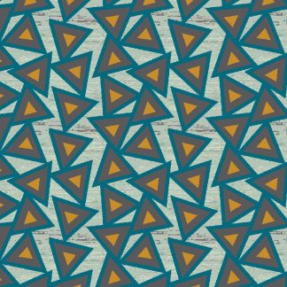 Jersey Triangles - beige meliert