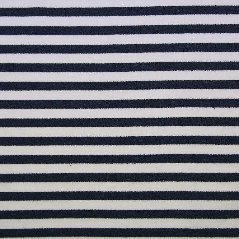 Sommersweat Stripes - marine