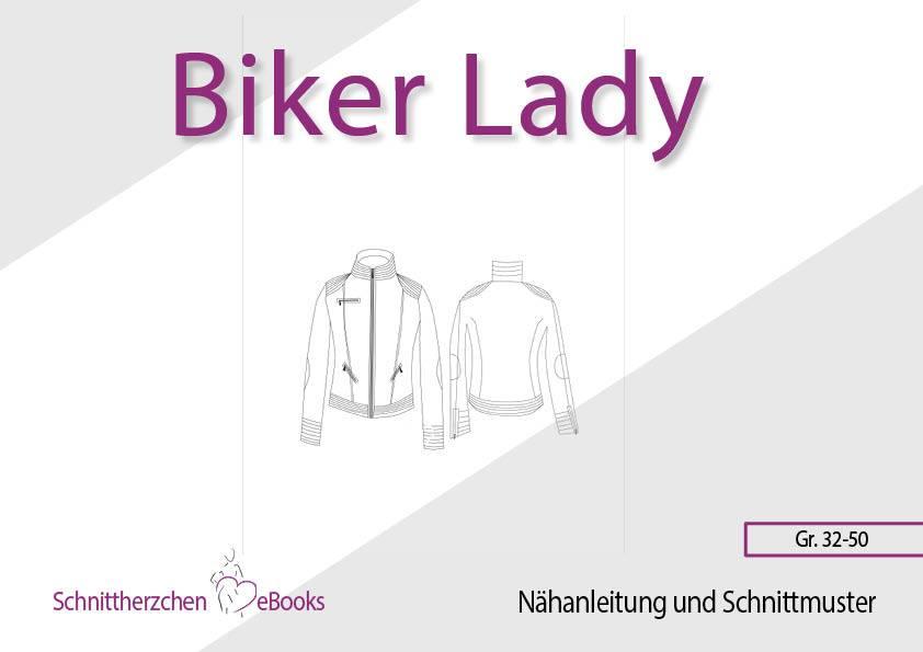 Biker Jacke Schnittherzchen