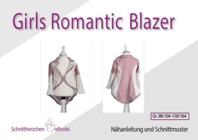 Romantik Blazer Schnittherzchen