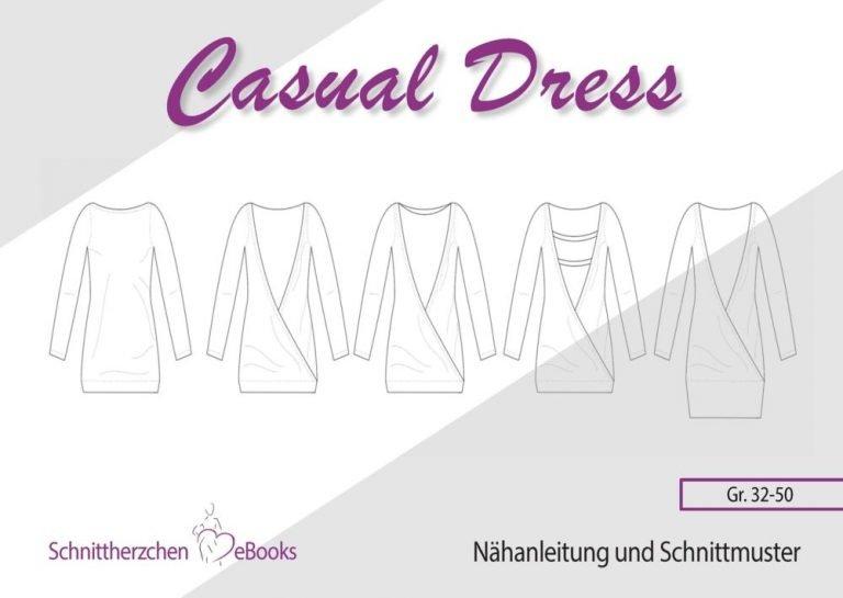Casual Dress Schnittherzchen