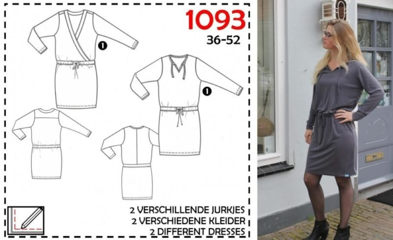 it's A fits 1093, Kleid, Schnittmuster
