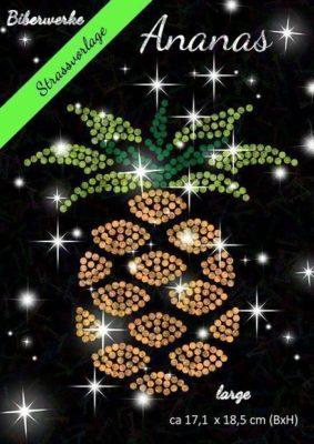 Biberwerke Strassvorlage Ananas