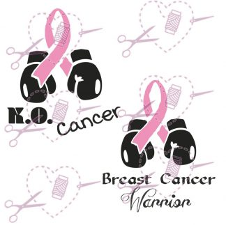 KO Cancer Pink Ribbon