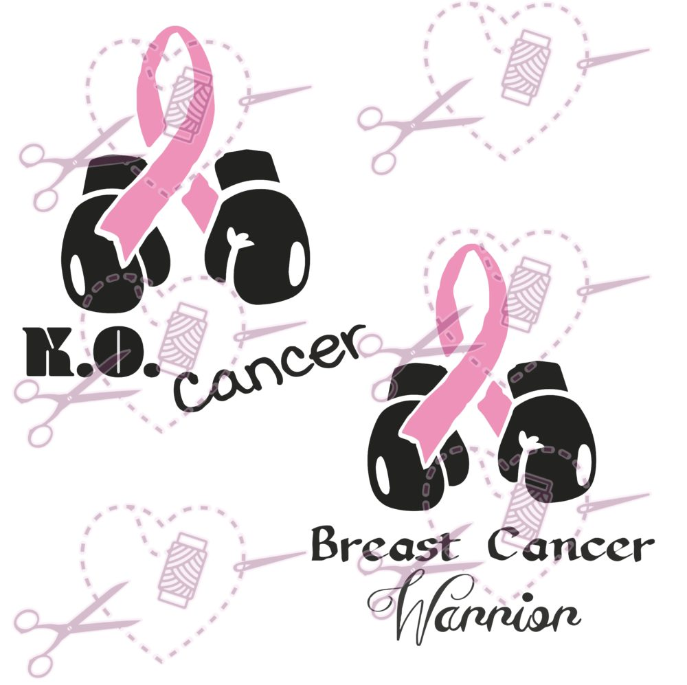 KO Cancer Pink Ribbon