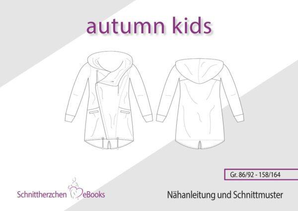 autumn kids Schnittherzchen