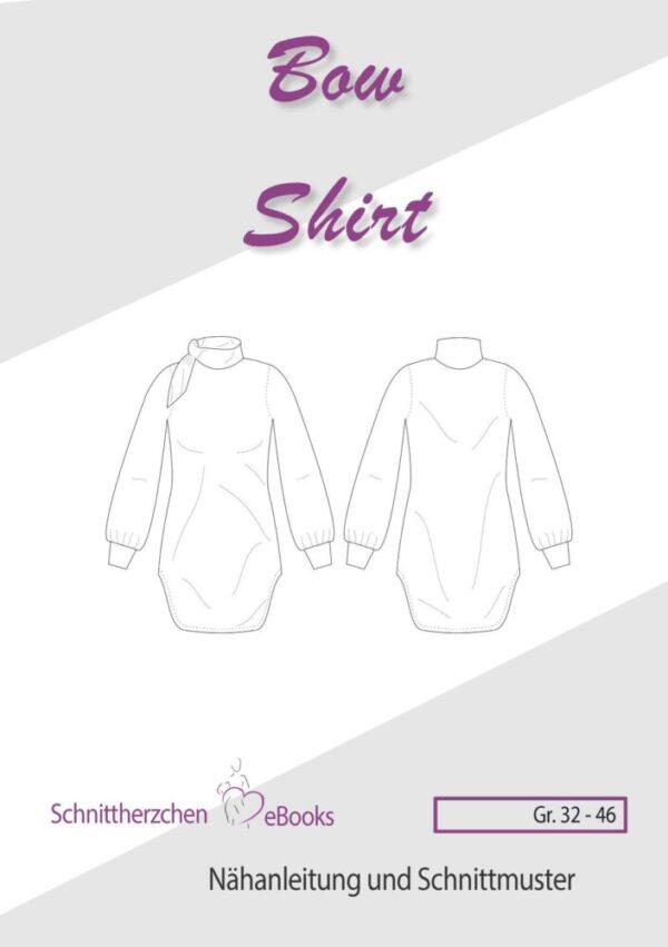 Schnittherzchen Bow Shirt - Größe 32 - 46