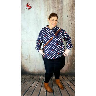 Schnittherzchen Curvy Bow Shirt - Größe 46 - 58