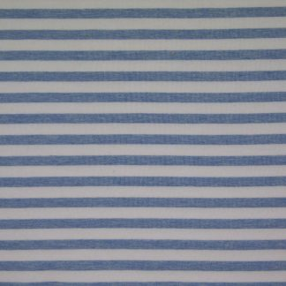 Sommersweat Stripes - hellblau