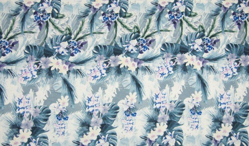 Viskose Jersey - Hawaii Flowers