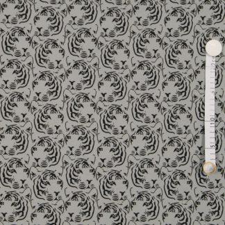 Jersey Tiger - grau - *Ilja Fabrics*