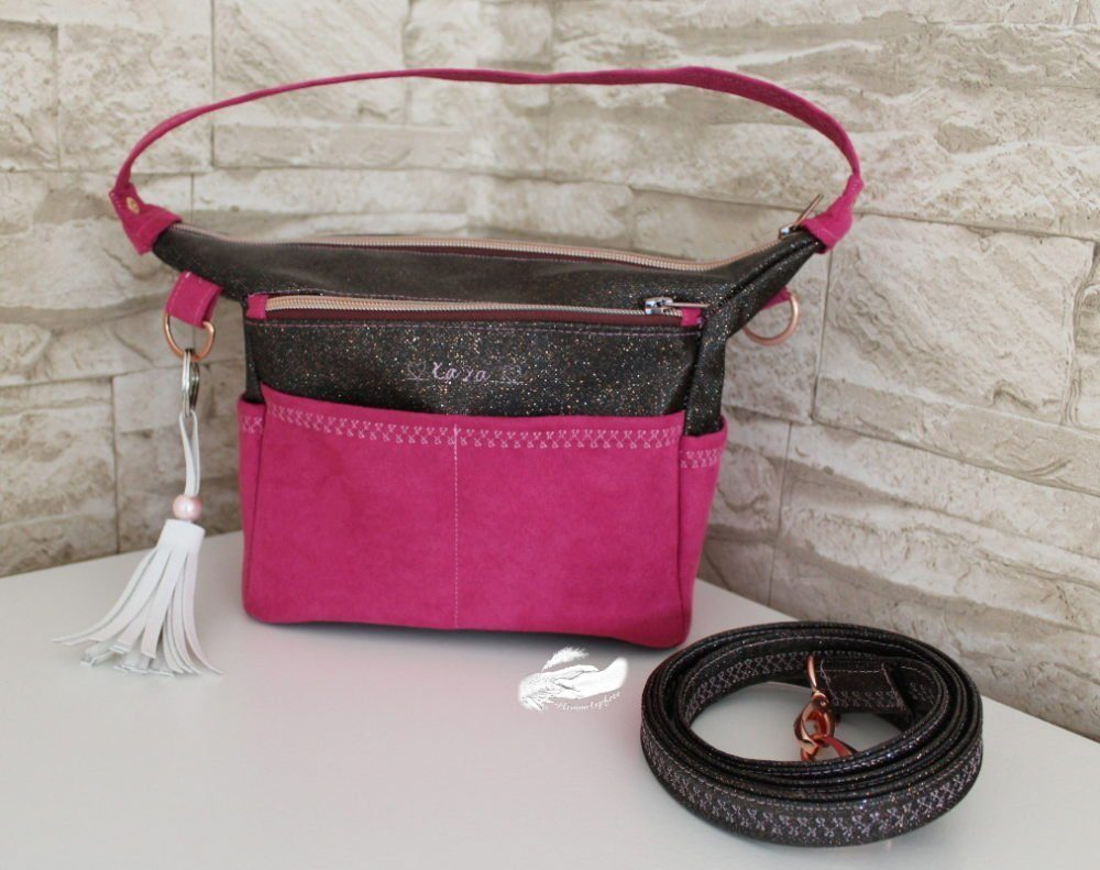 KAYA Bag, Handtasche, Schnittmuster, eBook in 3 Größen – Schnittverhext