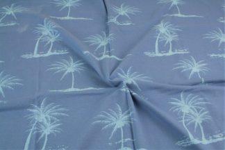 Jersey Palmen - jeans
