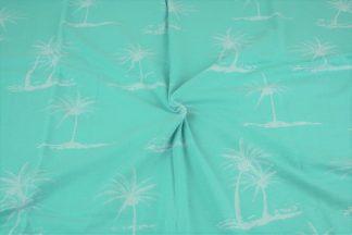 Jersey Palmen - mint