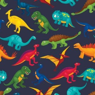 Sommersweat - Colourful Dinos