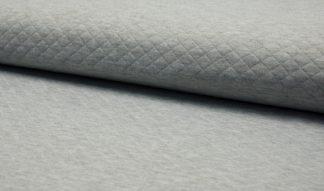 Diamond Jersey meliert - grau