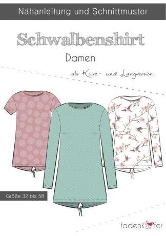 Schwalbenshirt-Damen