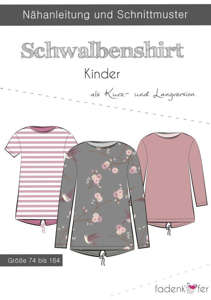 Schwalbenshirt-Kinder