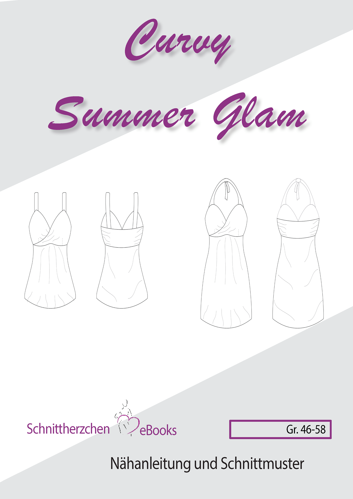 Ebook, Sommer Glam Gr. 46 - 58