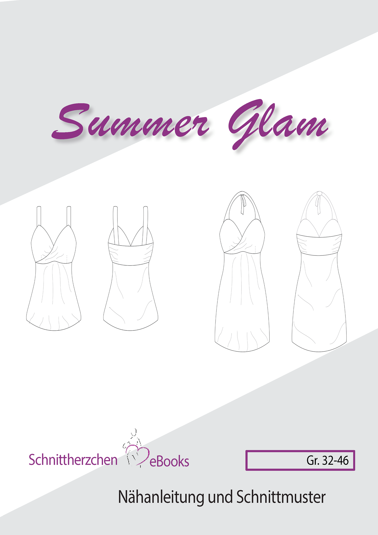 Ebook, Sommer Glam Gr. 32 - 46