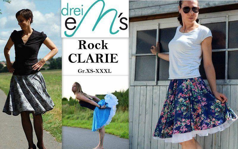 Ebook Tellerrock Rock Clarie Xs Xxxl Schnittverhext