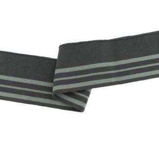Cuff Drei Streifen Dunkel Grau-Hell Grau