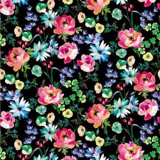 Jersey - Aquarelle Bouquet