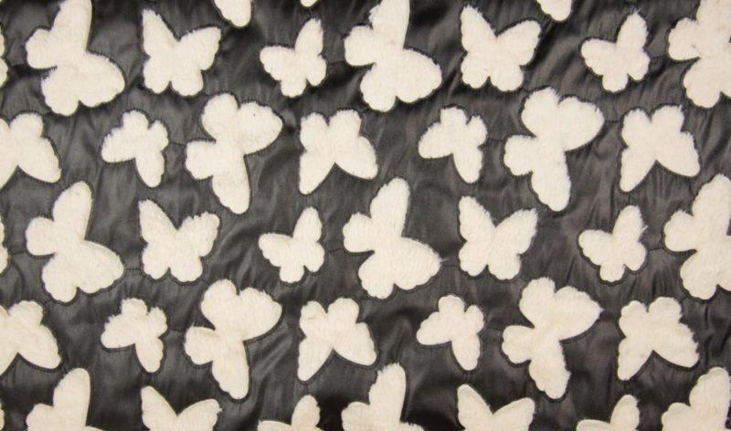 Cut Out Lederimitat - Butterfly