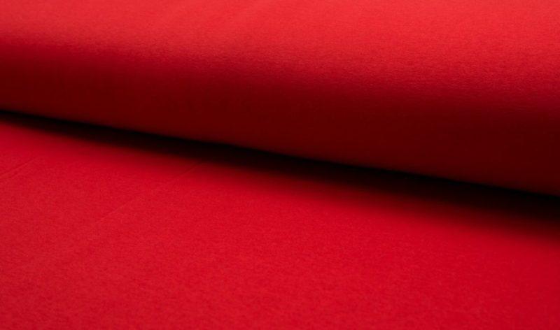 Kuschelsweat - rot