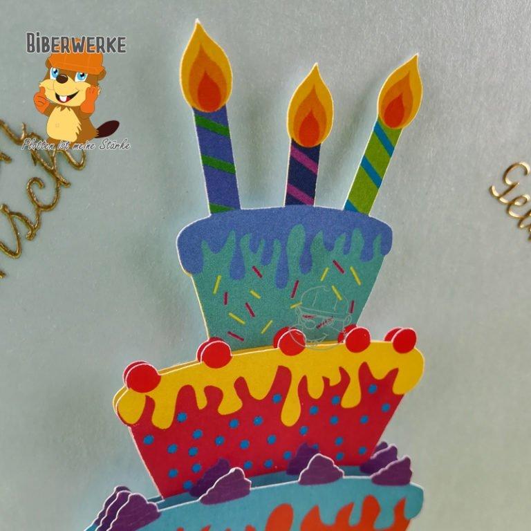 Biberwerke 3D DigiMotiv Geburtstagspaket