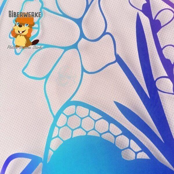 Biberwerke Fensterbild Ostern Blumen