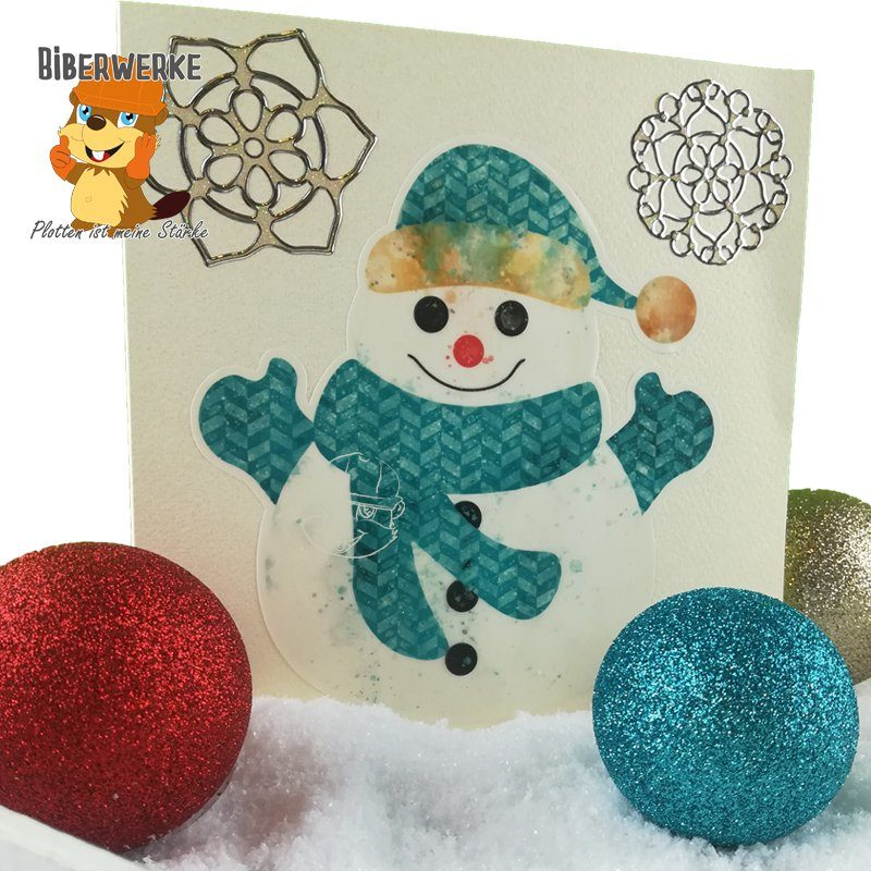 Biberwerke DigiStamps Schneemann